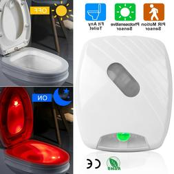 Toilet Night Light LED Motion Activated Sensor Lamp Bathroom