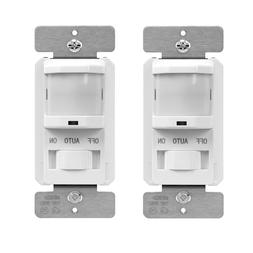 TOPGREENER Motion Sensor Light Switch Passive Infrared Occup
