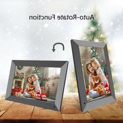 LCD Digital Photo Frame WiFi Cloud Share Pictures/Videos Ins