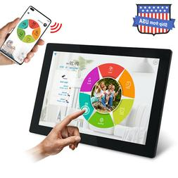 Digital Picture Frame WiFi 10 inch IPS Touch Screen HD Displ