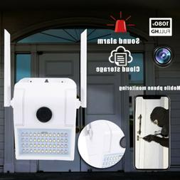 WiFi Security Camera With Motion Sensor Floodlight Outdoor 1