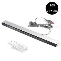 Wired Infrared Ray Sensor Bar for Nintendo Wii and Wii U Con
