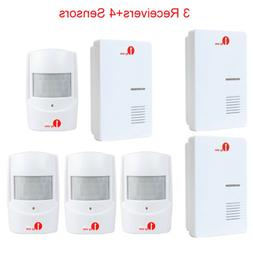 1byone Wireless Doorbell PIR Motion Sensor 36 Chime for Home