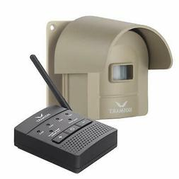 Wireless Driveway Alarm Alert System 1/4 Mile Security Motio