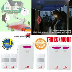 wireless driveway alarm system home security motion
