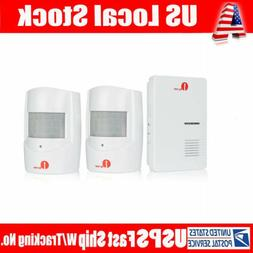 wireless driveway alert alarm system infrared motion