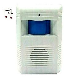 Wireless Guest Entry Alarm Door Bell Chime Motion Sensor Gre