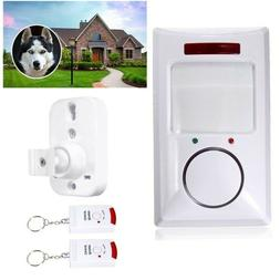 Wireless IR Infrared Motion Sensor Alarm Security Home Syste