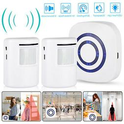 Wireless Motion Sensor Alarm Home Security Doorbell Driveway
