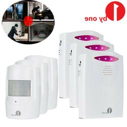 Wireless Motion Sensor Alarm Security Home PIR Detector Driv