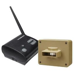 Wireless Motion Sensor Alert System Long Range Driveway Outd