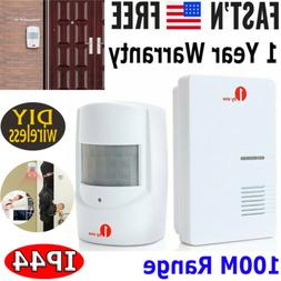 Wireless Motion Sensor Car Detector Door Bell Gate Entry Chi