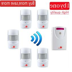Wireless Security  Motion Sensor Alarm 5 Driveway PIR Infrar