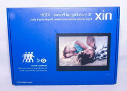 NIX X10H Digital Photo /Video Frame 10-Inch with Motion Sens