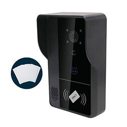 Zision ZS-WD01 720P HD Video WIFI Doorbell, Audio,Network Ph